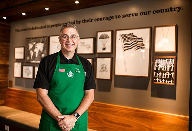 Veteran Starbucks employee